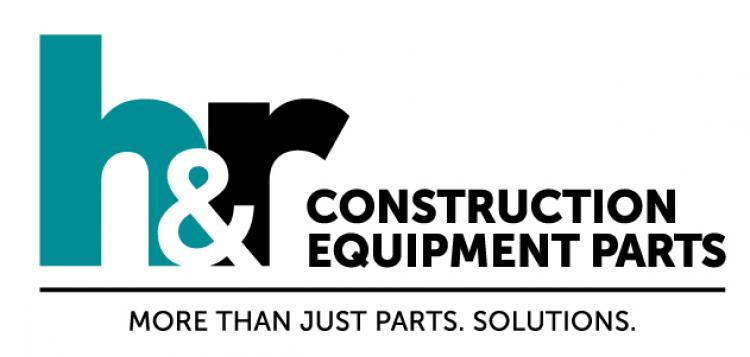 H&R Construction Equipment Parts Logo