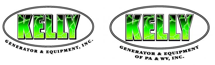 Kelly Generator & Equipment, Inc., and Kelly Generator & Equipment of PA & WV, Inc.  Logo